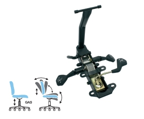 Passende Sitzmechanik für die Rückenlehne zum Polstern