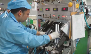 Video - Production of the new X-Line chair gas spring columns. View into the production...