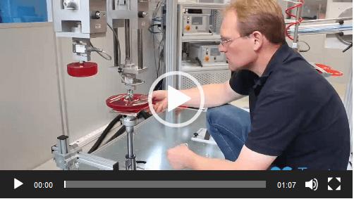 proroll Testet seine Gasdrucksäulen im eigenen Testcenter