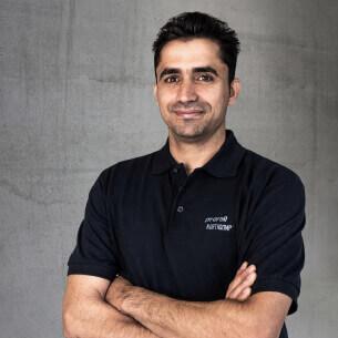 Amar Ahmad - Räder- und Rollenmontage bei proroll
