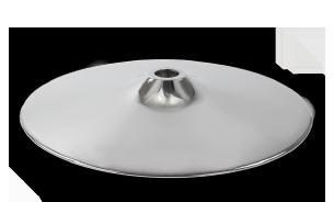 Fussteller Fussgestelle für Sitzmöbel️️ Fussteller für schweren Sitzmöbelnoder Sesselfuss aus Stahl mit verchromter Oberfläche
