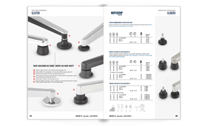 Download the complete proroll chair glides and furniture glides range in one brochure