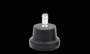 Kunststoff-Gleiter mit Antirutsch-Eigenschaft