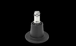 Spitzer Kunststoff-Gleiter