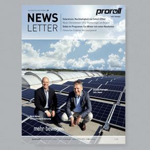 Newsletter 01/19 proroll GmbH