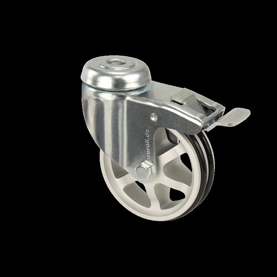apparaterolle-253-2A10-aluminiumspeichen-rueckenloch-feststeller
