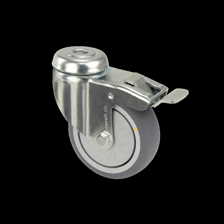 apparaterolle-253-2A11-aluminiumspeichen-rueckenloch-feststeller