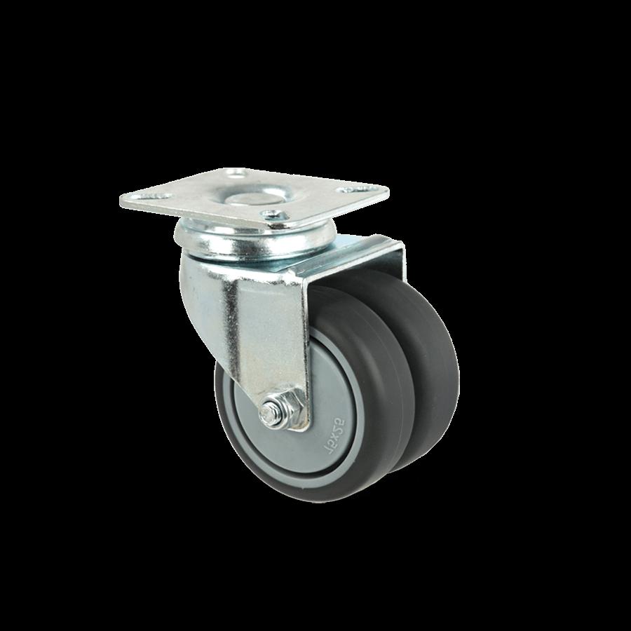 apparaterolle-255D-geringe-hoehe-platte