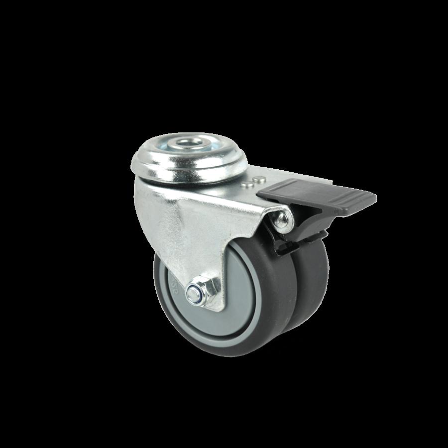 apparaterolle-255D-geringe-hoehe-ueckenloch-feststeller