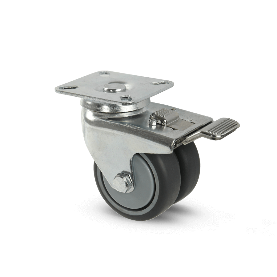 apparaterolle-257D-geringe-hoehe-platte-feststeller