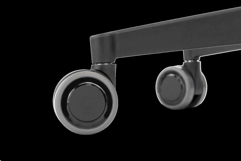 stuhlrolle-166-schwarz-komplett