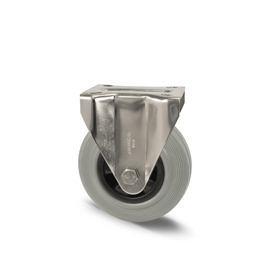 edelstahlrolle-2E7-450E-vollgummibereifung-polyamidfelge-bockrolle