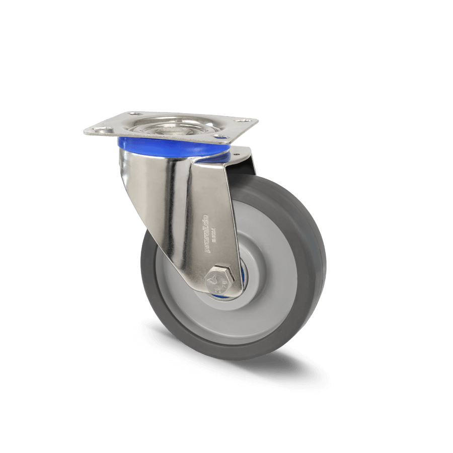 edelstahlrolle-2E8-450E-polyamidrädern-polyurthanbandage-platte