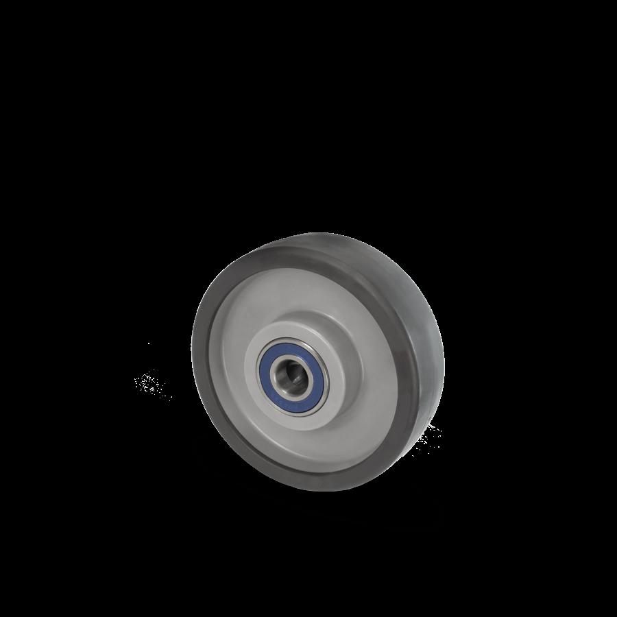 Kugellagerrad für bis zu 500kg Belastung