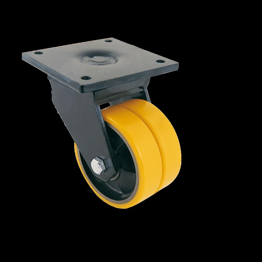 schwerlastrolle-2SCH11-950D-polyurethanbandage-oel-fettbeständig-platte