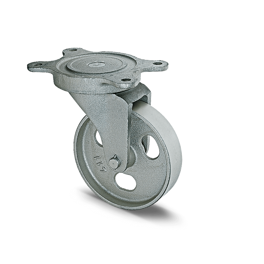 schwerlastrolle-2SCH15-750-graugussraeder-platte