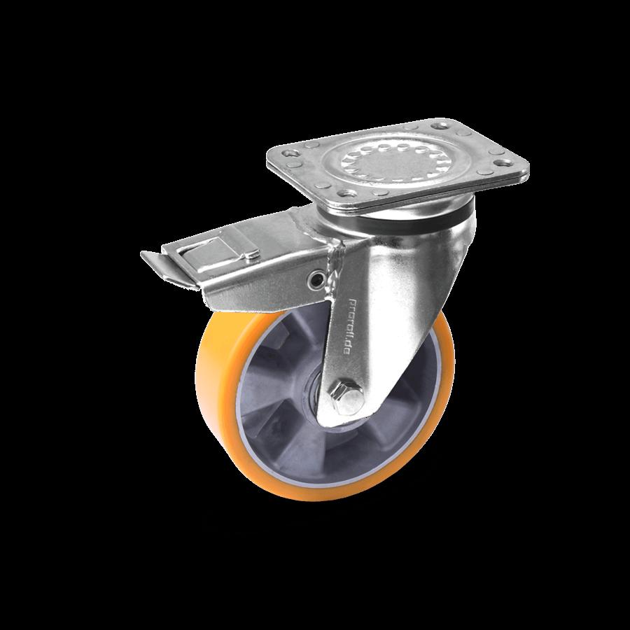schwerlastrolle-2SCH3-600-aluminiumfelge-polyurethanbandage-feststeller