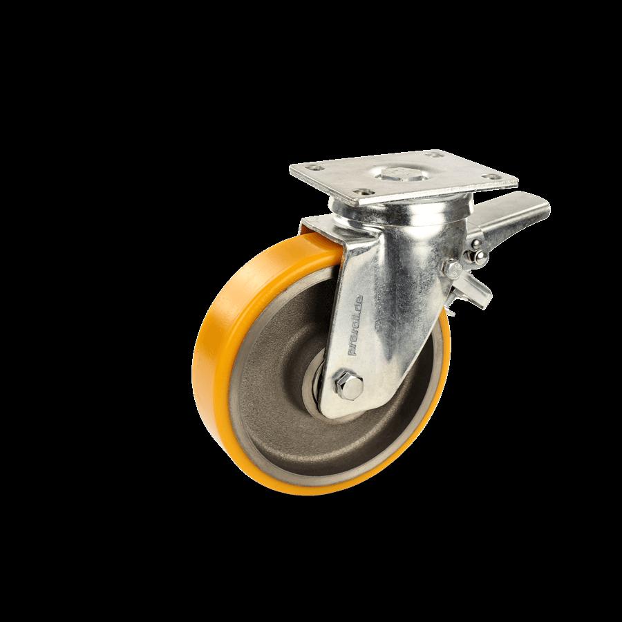 schwerlastrolle-2SCH6-650-graugussfelge-polyuretahnbandage-feststeller