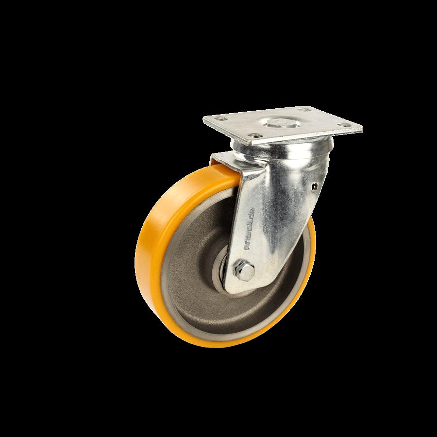 schwerlastrolle-2SCH6-650-graugussfelge-polyuretahnbandage-platte