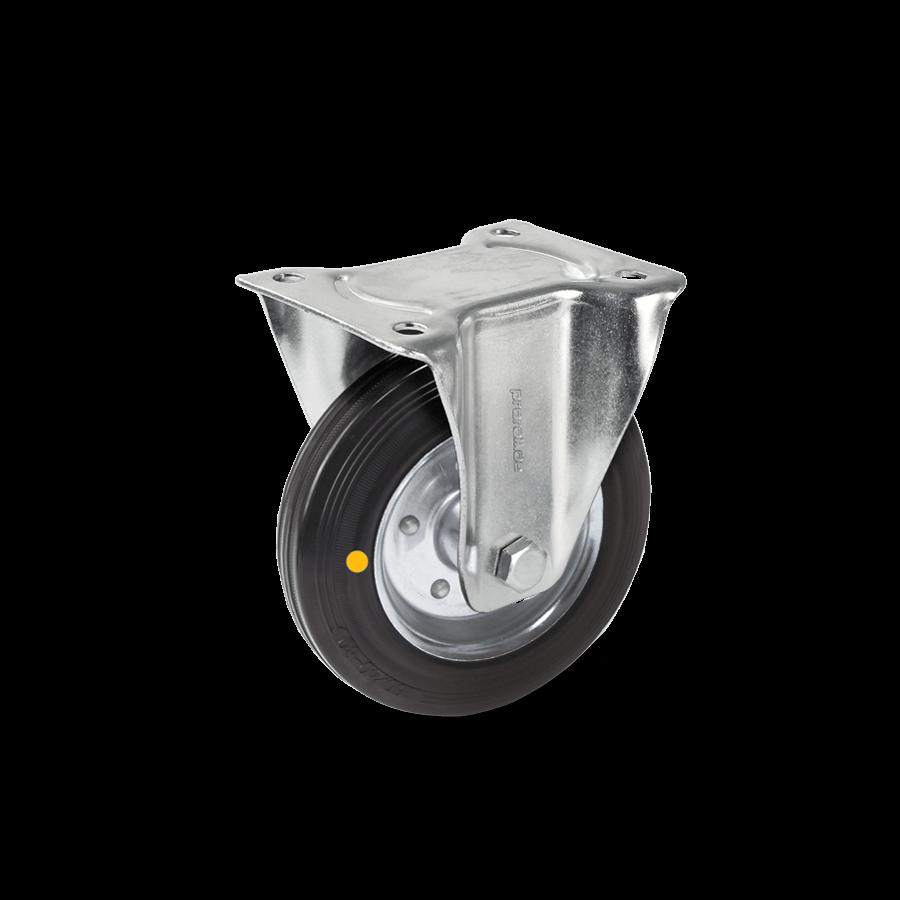 transportrolle-2T1-455-gummrad-elektrischleitfaehig-bockrolle