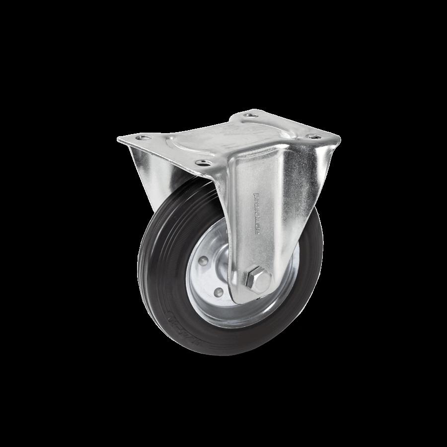 transportrolle-2T2-455-stahlfelge-vollgummibereifung-bockrolle