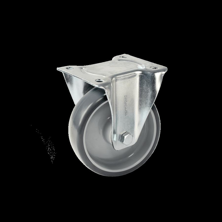 transportrolle-2T8-455-kunststofffelge-vollgummibereifung-bockrolle