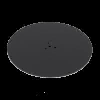 Bodenplatte zur Montage unter Tischsäule