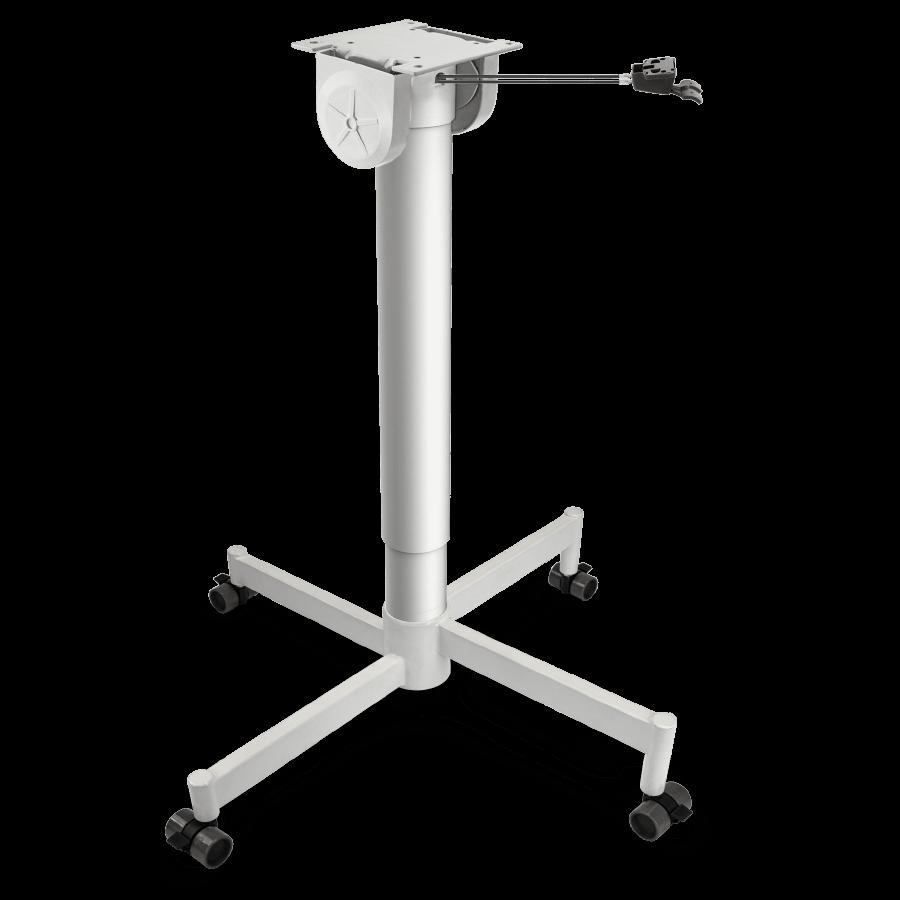 Height adjustable table column