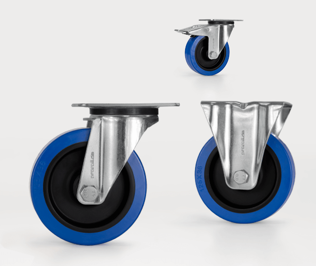 Transport castors with quality from proroll since 1986